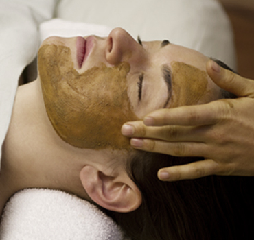 herbal facial massage