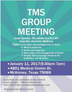 TMS Group Meeting